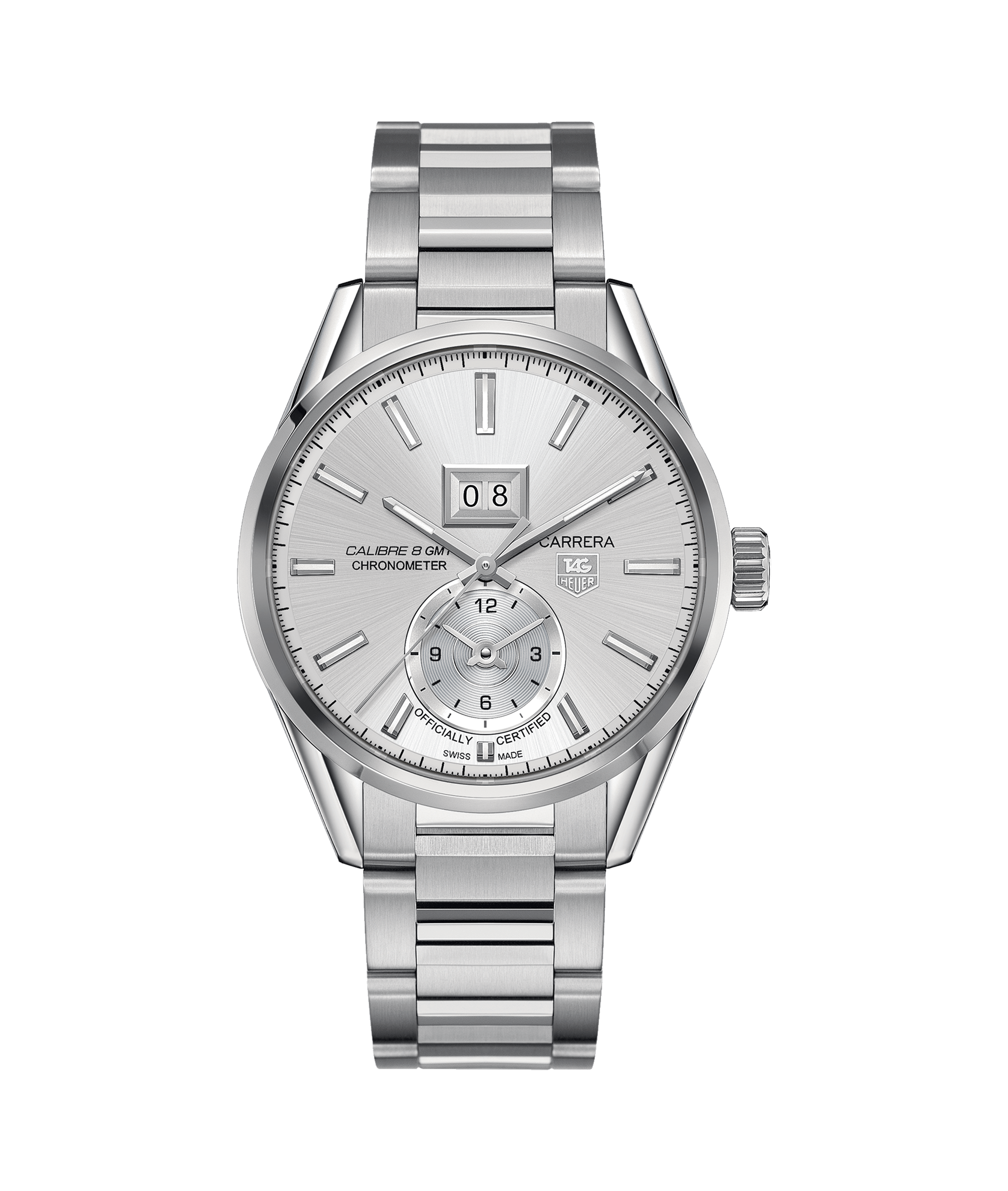 Tag Heuer Carrera Calibre 8 Gmt Automatic Watch